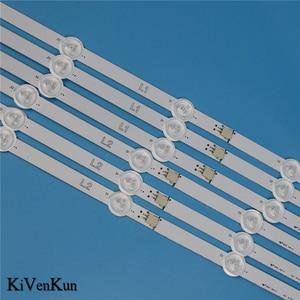 Image 4 - Bande de rétro éclairage LED de lampe HD pour LG 50LA6218 50LA6230 50LA621S 50LA621V 50LN543V 50LN548C  ZD ZA ZB bandes de LED de télévision