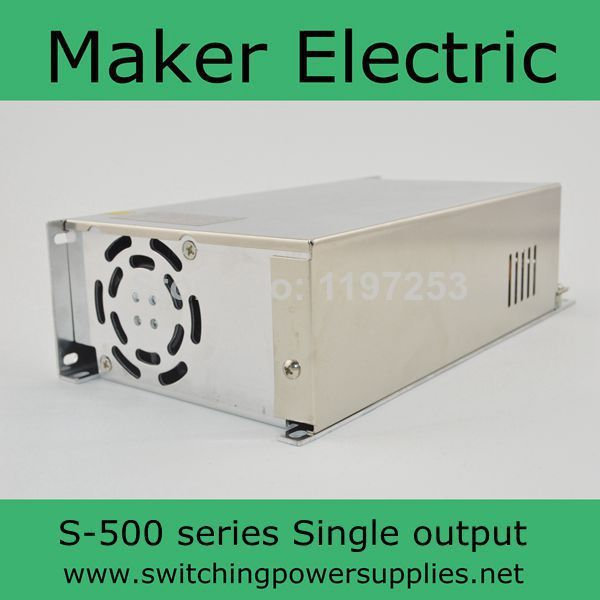 ФОТО 500W 13.5V 36A 220V INPUT Single Output Switching power supply for LED Strip light AC to DC