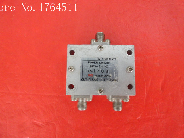 [BELLA] HRS HPS-2H (10) And A Two Power Divider SMA
