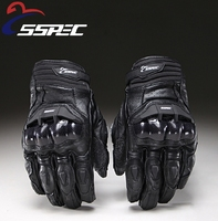 SSPEC Hot Selling Motorcycle Gloves Moto Racing Gloves Knight Leather Ride Bike Driving BMX ATV MTB