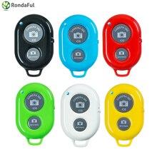 Bluetooth Shutter Remote Control Button Wireless Bluetooth Self Timer Camera Phone Monopod font b Selfie b