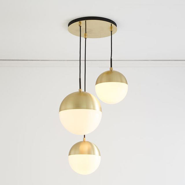 Modern Pendant Lights Black Glass Ball Pendant Lamp Long Line Hanging Lamp For Kitchen Living Room Nordic Globe Light FixturesModern Pendant Lights Black Glass Ball Pendant Lamp Long Line Hanging Lamp For Kitchen Living Room Nordic Globe Light Fixtures