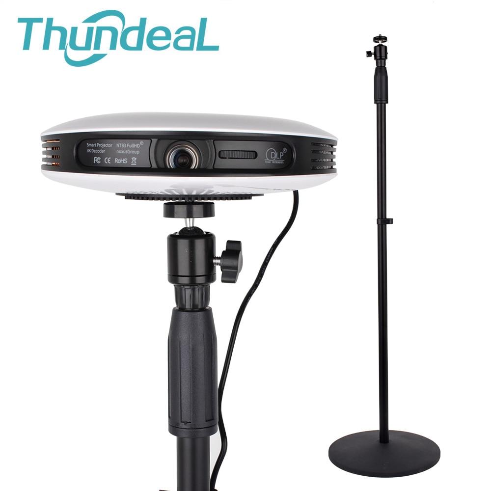 ThundeaL T18 Max support de projecteur 77-165cm hauteur réglable C80 UP YG400 projecteur 6mm trou de trépied T18 Max T20 support de projecteur