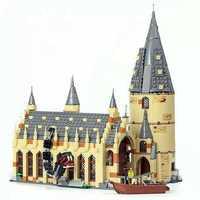 926PCS Movie Sets 16052 Compatible With Model Building Kits Castle Hall Blocks Toys 75954 JP39144