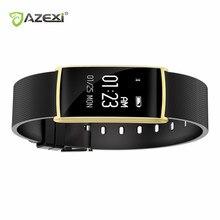 Azexi Новый Smart Браслет 0.96 дюймов сердечного ритма monito BT 4.0 IP67 Водонепроницаемый сообщение push умный Браслет PK Xiaomi miband 2