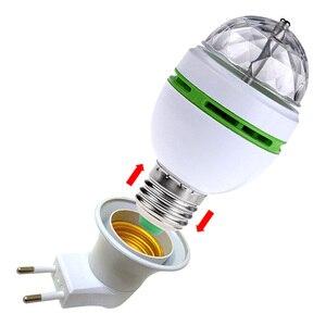 Image 5 - Mini projecteur Laser Portable à LED ampoules, éclairage de scène Disco DJ pour spectacle de fête noël avec adaptateur prise E27 vers EU