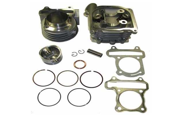 100cc Big Bore Kit Cylinder 64mm Head Chinese Scooter GY6 50 Engine moto parts