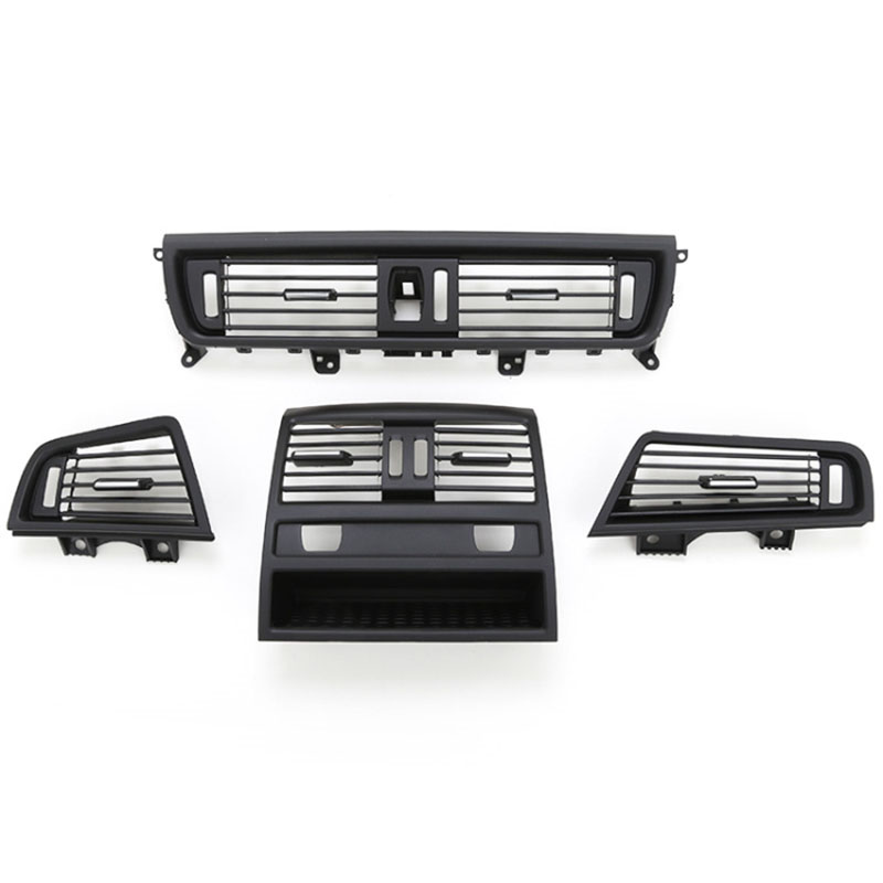 X AUTOHAUX A//C Vent Grille Air Conditioner Outlet Vent Grill Full Plating for BMW 5 Series F10 F18 64229166884 Front Right
