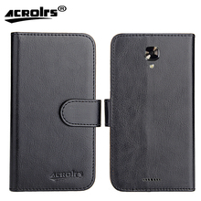 NUU Mobile A4L Case 5″ 6 Colors Dedicated Leather Exclusive 100% Special Crazy Horse Phone Cover Cases Card Wallet+Tracking