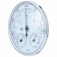 3 IN 1 Wall Mounted Barometer Household Thermometer Hygrometer Mayitr Hanging Weather Station Instrument Mayitr