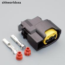 Shhworldsea 2/5/30/100 комплекты катушка зажигания штекер/Жгут проводов разъем автомобиль для kia для hy 49093-0211