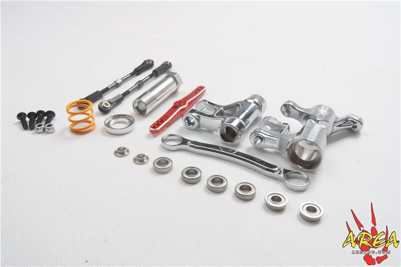 Area RC Chromium Steering Arm Set for LOSI DBXL цены онлайн