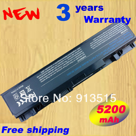 Laptop Battery FOR Dell Studio 1535 1536 1537 1555 1557 1558 for dell KM958 KM965 MT264 WU946 312-0701 312-0702 A2990667 new and orginal english us black with backlit laptop keyboard for dell studio 15 1555 1557 1558