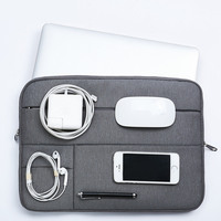 Waterproof Polyester Laptop Bag Sleeve Case Cover For Dell Lenovo HP Laptop Bag Case For Macbook