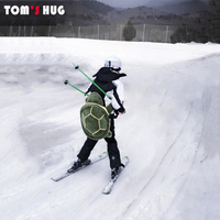 Outdoor Sports Skiing Skating Small Green Turtle Tortoise Hip Protective Bottom Padded For Ski & Roller Snowboard Hip Protection