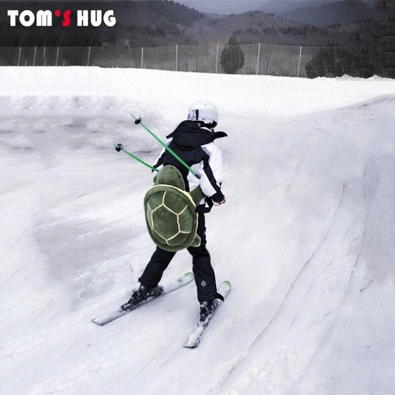 Sports de plein air Ski patinage petite tortue verte tortue Protection des hanches fond rembourré pour Ski & Roller Snowboard Protection des hanches