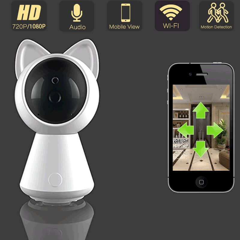 1080P Wifi IP Camera HD Wireless CCTV Home Video Surveillance Security Indoor Camera Two Way Audio Baby Monitor Yoosee App baby monitor camera wireless wifi ip camera 720p hd app remote control smart home alarm systems security 1mp webcam yoosee app