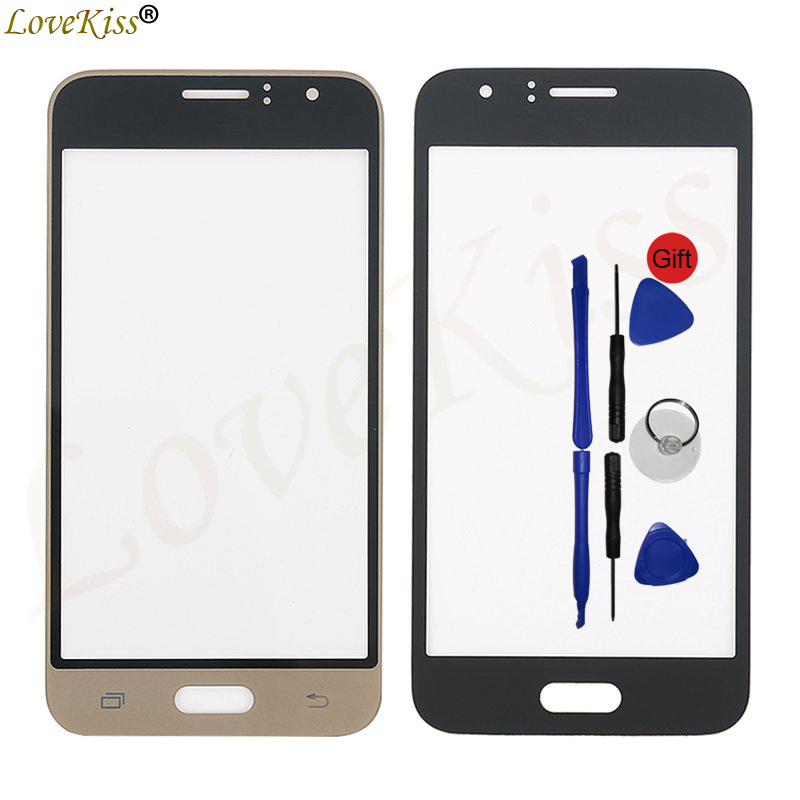 J120 Front Panel For Samsung Galaxy J1 2016 J120F J120H J120M Touch Screen Sensor LCD Display Digitizer Glass Cover Replacement