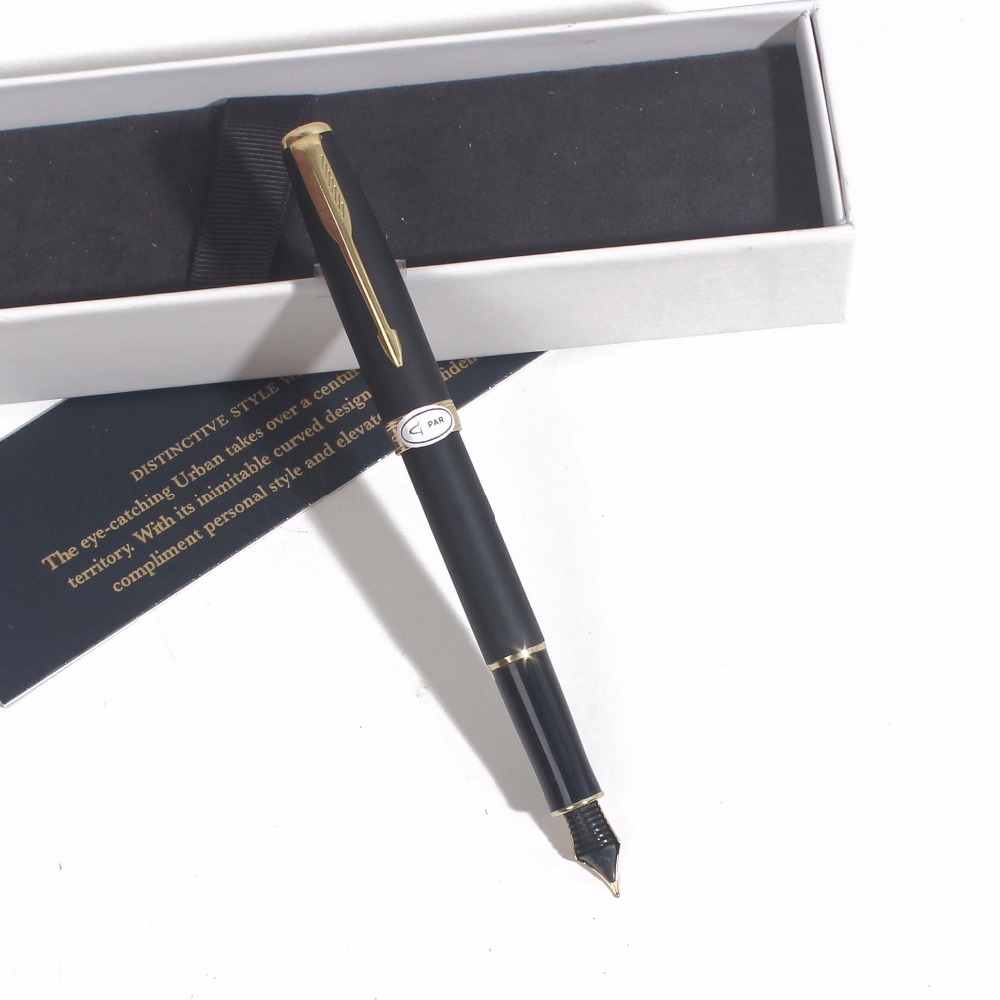 Sonneting Fountain pen metal office school pen Classic gold black gold clip pen gift with box black penSonneting Fountain pen metal office school pen Classic gold black gold clip pen gift with box black pen