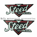 Motorcycle Steed Gas Tank Sticker Decal Fuel Tank Decals For HONDA Steed VLX400 VLX600 VT400