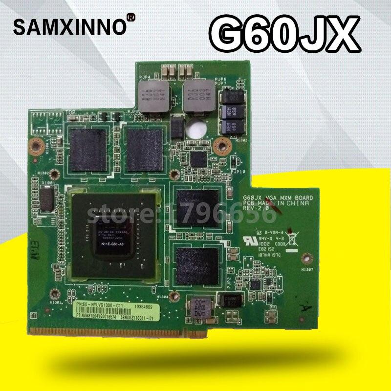 For Toshiba X500 X505D DATZ1SUBAD0 N11E-GS1-A3 GTS 360M 1GB DDR5 VGA video card