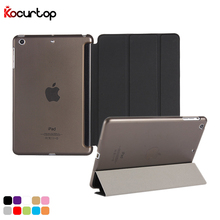 2019 New Dropshipping Ultra Slim Smart Cover for iPad Mini 1 2 3 Case Magnetic Fold Folio Flip Stand PU Leather Cases + Stylus dhl ems free ultra slim magnetic folio stand tri fold custer pu flip leather case cover for sony xperia tablet z4 10 1 tablet