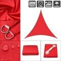 3x3x3 4x4x4 3x3x4 3 яркий красный 300D полиэстер Оксфорд равностный правый треугольный козырек парусный Бассейн Крышка палатка с защитой от солнца во...