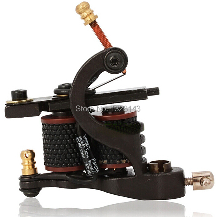 Wholesale taty pur handmade luo 39 s tattoo machine 10 coils for Tattoo gun prices