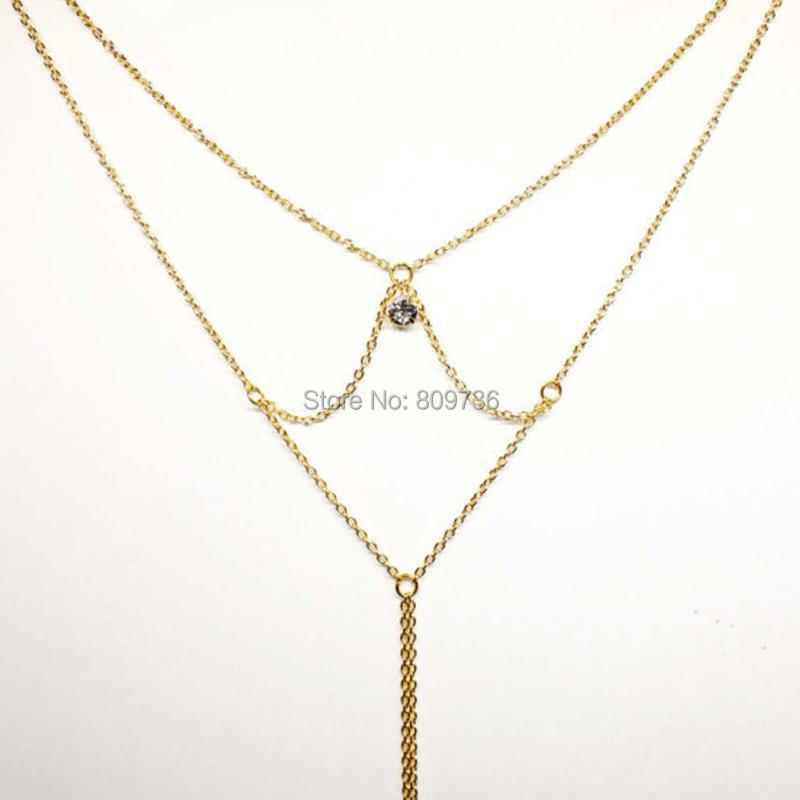 HTB1yy5tKpXXXXcJaXXXq6xXFXXXq Hot Long Back Golden Chain Necklace For Women