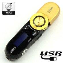 Portable Mini USB Flash MP3 Player LCD Screen Support Flash 16GB TF Card Slot Digital mp3 music player FM Radio