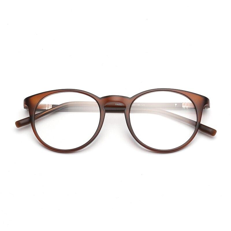 Mujeres TR90 miopía del marco gafas marca diseñador óptico claro ...