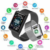 New Smart Watch Men for Android iOS LED Big Color Screen Sport Watches Women Fitness Bracelet Heart Rate Blood Pressure Monitor