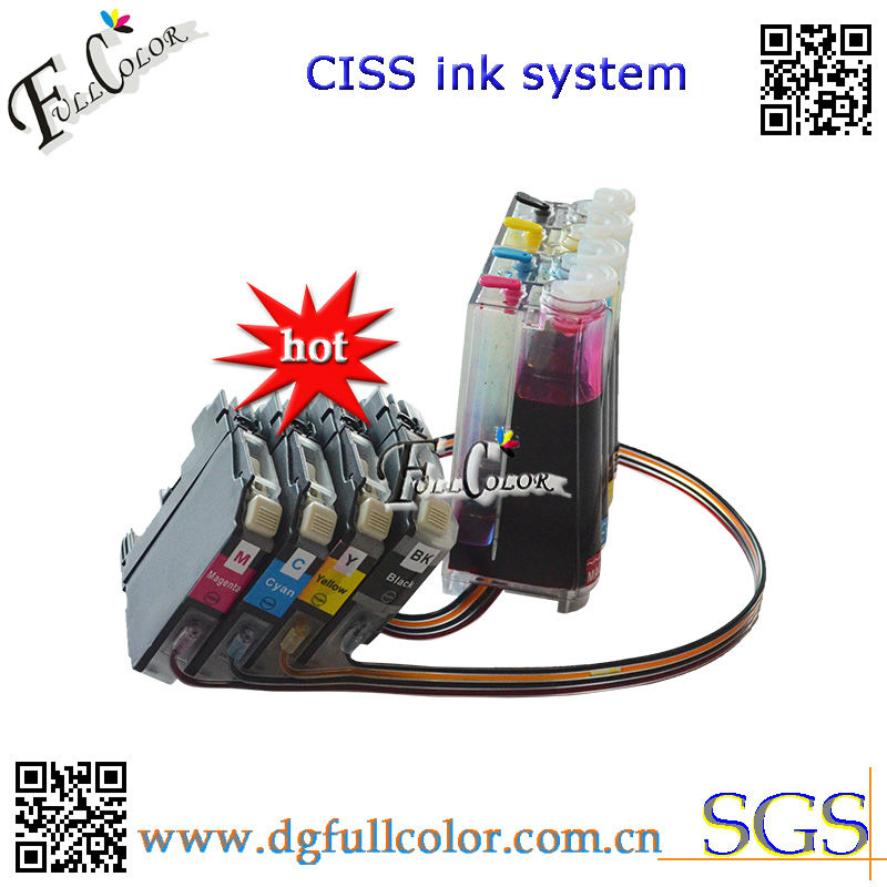Free Shipping New Ciss for LC123 LC125 Ink System With Chip And Inks import ink cartridge lm220xl with chip for lexmark officeedge pro4000c pro4000 pro5500 pro5500t pritner free shipping