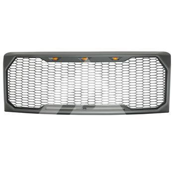 гриль раптора для F150 | Для 2009 2010 2011 2012 2013 2014 Ford F150 ABS светодиодный Raptor сетки упакованы решетка