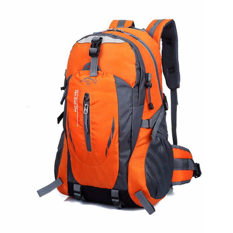 Outdoor Backpack Men Women Camping Hiking Athletic Travel Backpack Unisex Climbing Sport Bags Waterproof