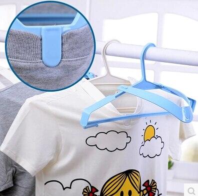 NEW Promotion 5PCS/SET Laundry Rack Neckline support Antislip dry wet amphibious hangers Clothes Coats Trousers Hangers Rack