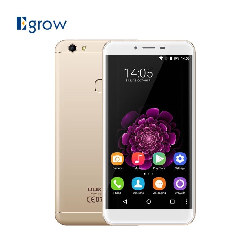 bilder für Original oukitel u15s android 6.0 handy mtk6750t octa-core handy 2450 mah 4g ram 32g rom smartphone
