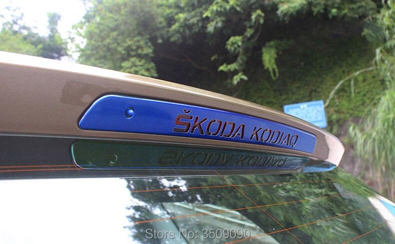 For Skoda Kodiaq 2017 2018 High Position Brake Light Paster Sticker Cover Decoration Car Stickers