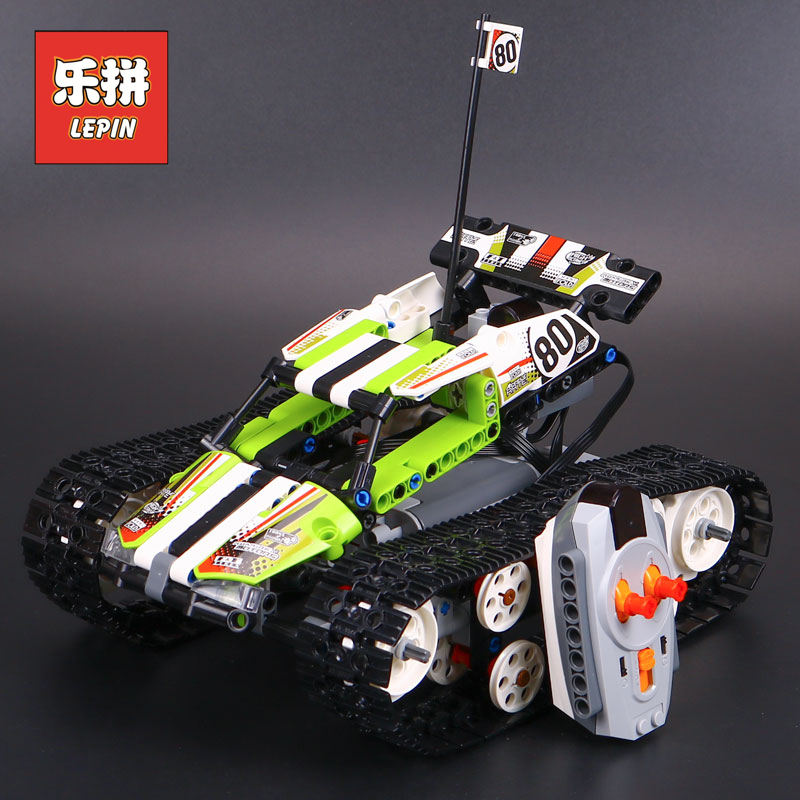 Technic Series 42065 Radio Controlled Tracked Racer Set Race Car Tank Legoinglys Building Block Brick Toy Technic lepin 20033