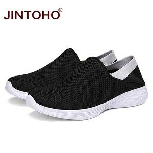 Image 3 - JINTOHO Unisex loaferlar yaz ayakkabı moda erkekler gündelik ayakkabı ayakkabı ucuz nefes erkek spor ayakkabı rahat erkek ayakkabı erkekler Shose