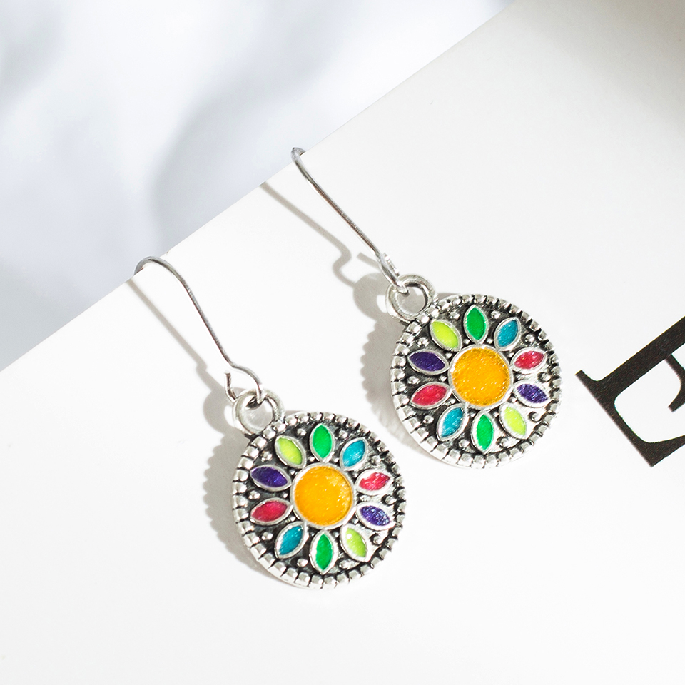 WoW 3 Pairs/Set Vintage  Earrings for Women   4