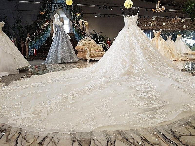 LS74521 rochii de mireasa de lux rochie de mireasa fara buzunar - Rochii de mireasa - Fotografie 2