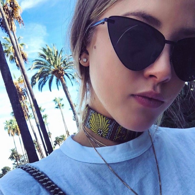 e656c6bfa0f SOJOS 2018 Ladies Fashion Mirror Cat Eye Sunglasses Women Luxury Vintage  Rose Gold Metal Frame Sun Glasses Mirror Lens SJ1091