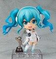 Новое Прибытие Игры Аниме Nendoroid #414 Гонки Мику 2014 Ver. Cute DIY Фигурку Игрушки Новая Коробка