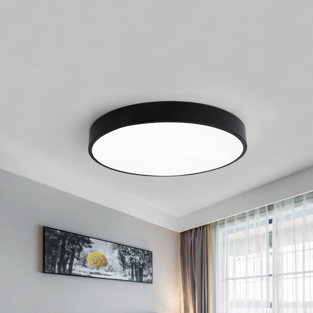 Zerouno High Power Led Ceiling Lights Surface Mounted Ceiling Lamparas High Luminous Down Lighting for Kitchen Study BathroomZerouno High Power Led Ceiling Lights Surface Mounted Ceiling Lamparas High Luminous Down Lighting for Kitchen Study Bathroom