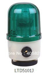 LED Strobe warning light 90dB LTD-5101J Magnetic base used for crane / construction projects/fire fighting