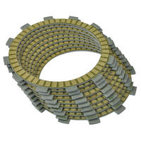 For YAMAHA 5PSF TDM900X TDM 900X 900 X 2008 Motorcycle Clutch Friction Plates