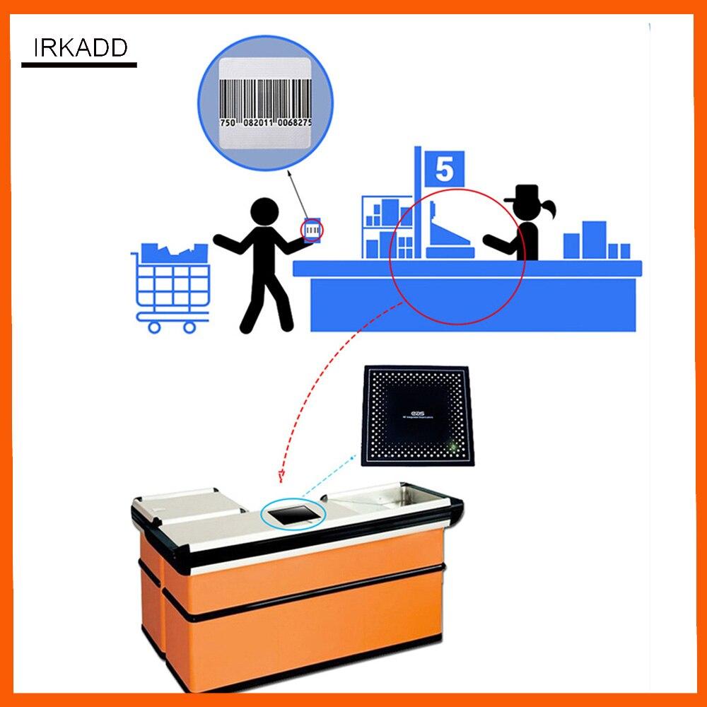 label deactivator for RF8.2Mhz eas systems retail anti theft systems eas soft label deactivator 110V-250V цена