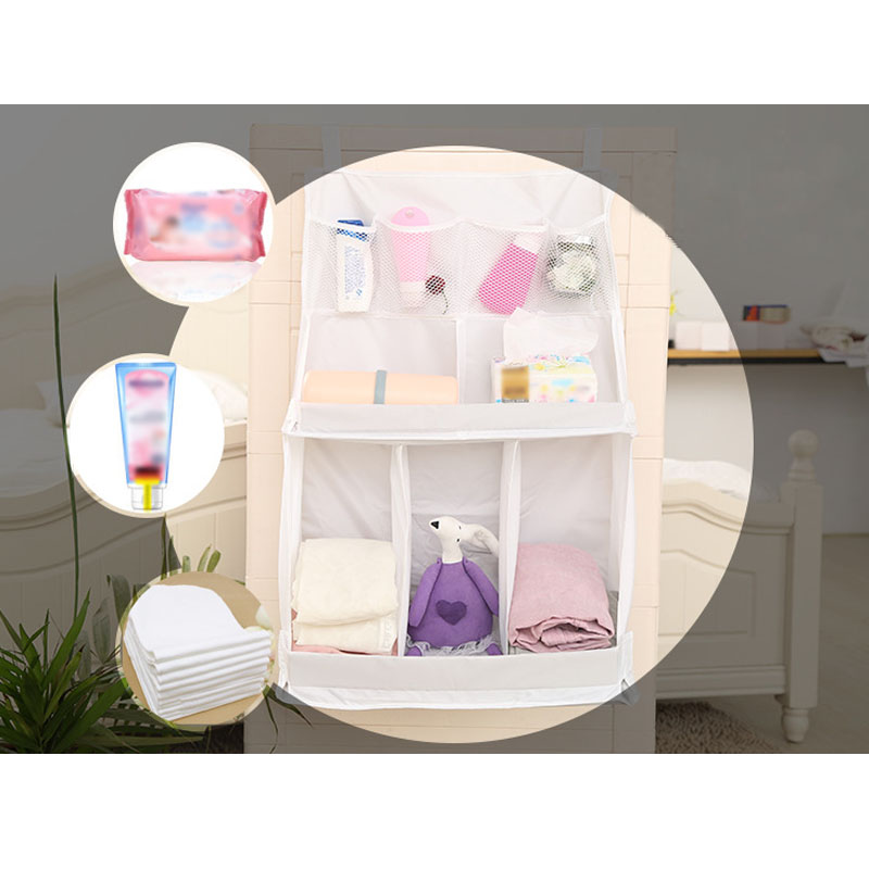 Portable Baby Bed Hanging Storage Bag Waterproof Toy Diapers Pocket Bedside Organizer Infant Crib Bedding Set Best Price