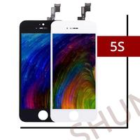 20PCS Mix Model Grade AAA LCD Display For IPhone 5S Touch Screen With Digitizer Assembly Replacement